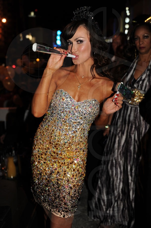 Karina Smirnoff Hosts New Years at The Catalina