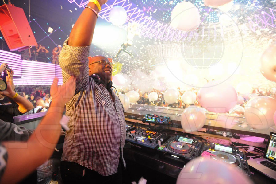 Carl Cox at Mansion NYE
