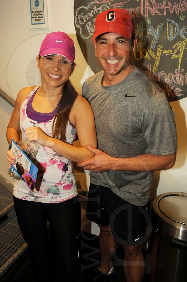 Bobby Deen's Charity Ride at Flywheel