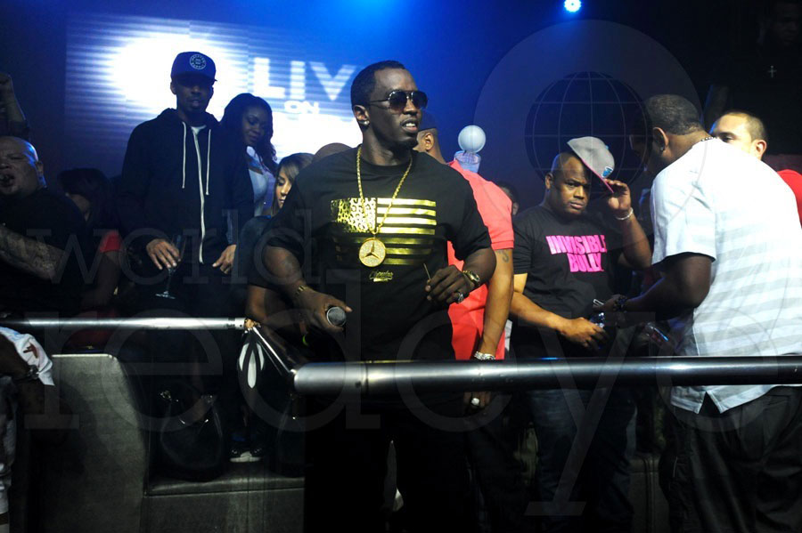 "Sean ""Diddy"" Combs at LIV"