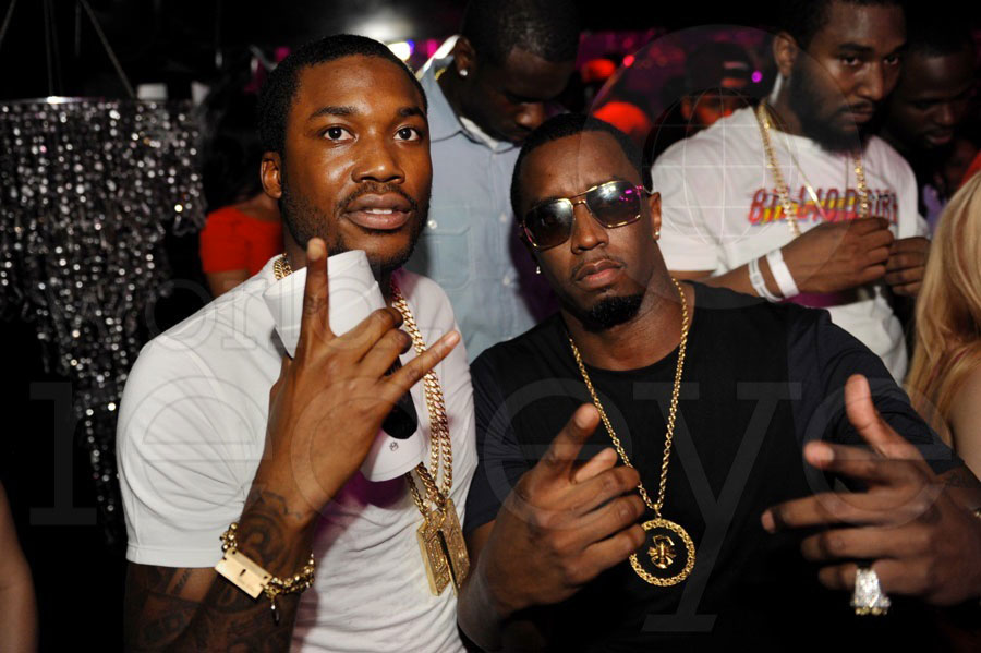 Meek Mill, Puffy, Khaled, & Ace Hood at Cameo