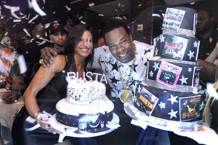 Busta Rhymes Birthday at LIV