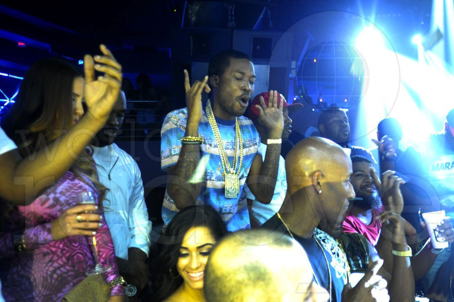 Meek Mill Birthday & Lil Wayne at STORY