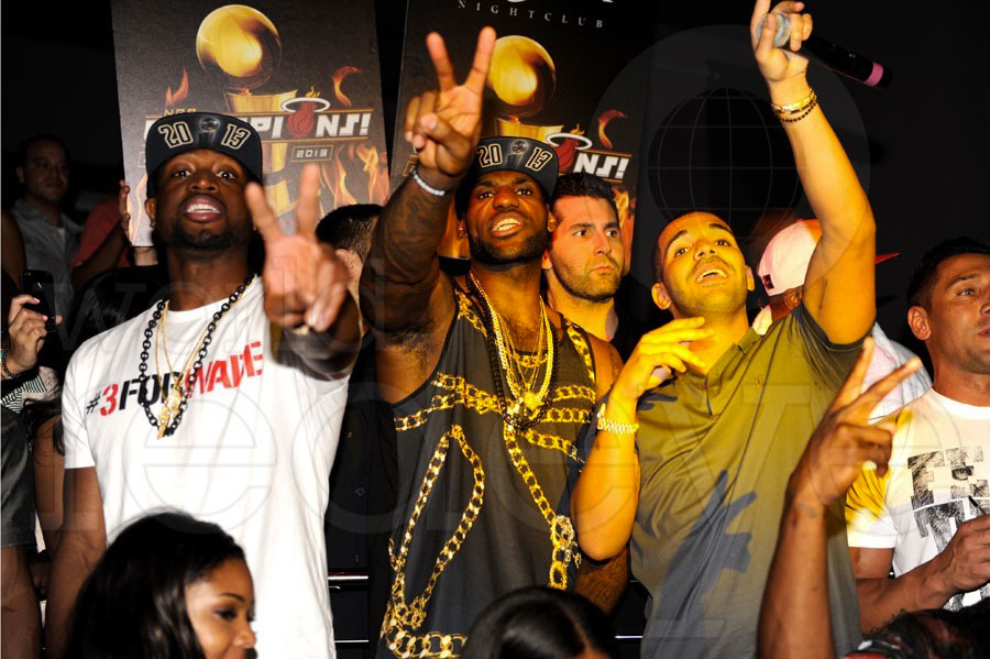 2013 NBA Champions Miami Heat at STORY