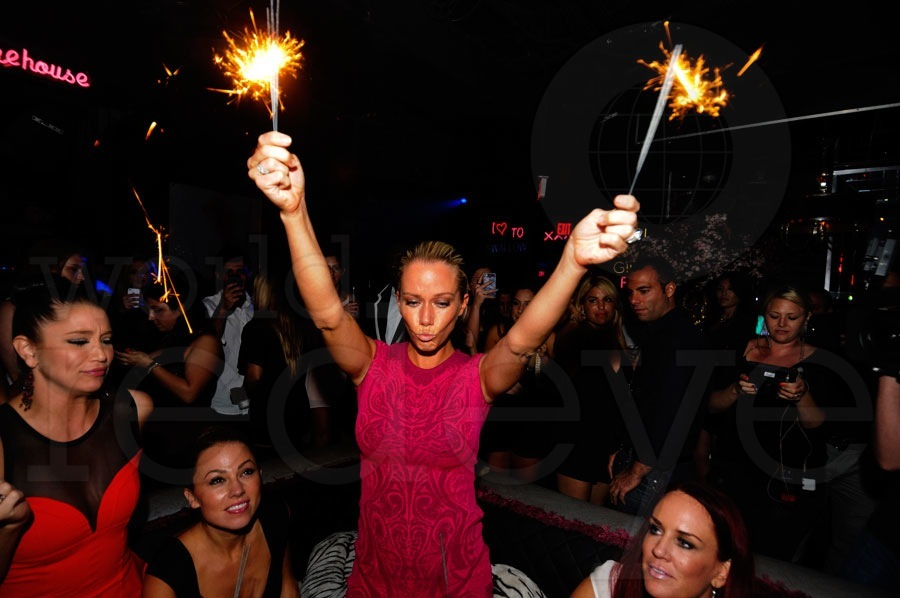 Kendra Wilkinson's Birthday at Mokai