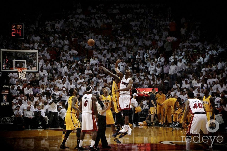 Heat vs Pacers Game 2 by DJ Irie