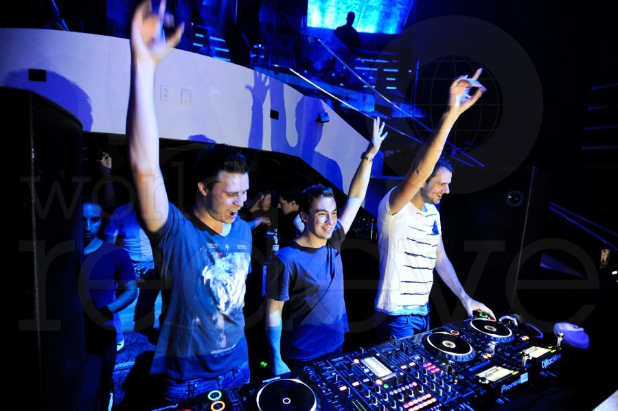 W&W & Hardwell at LIV