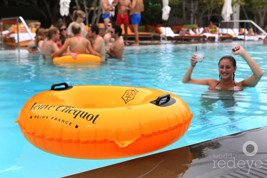 Veuve Clicquot Celebrates Brazil at Hyde Beach