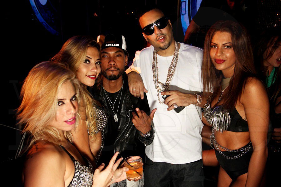 French Montana's Birthday at Bamboo
