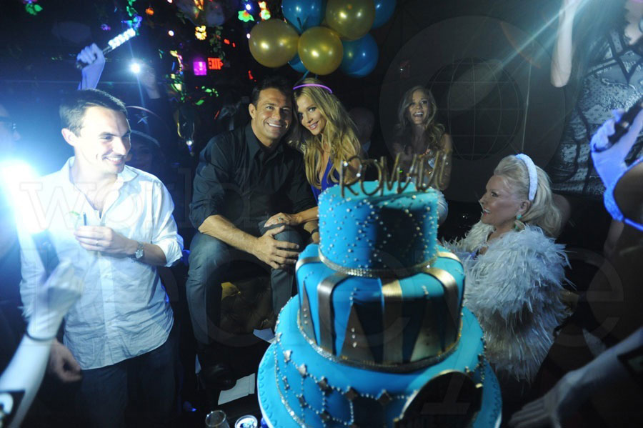 Romain Zago's Birthday at Mynt
