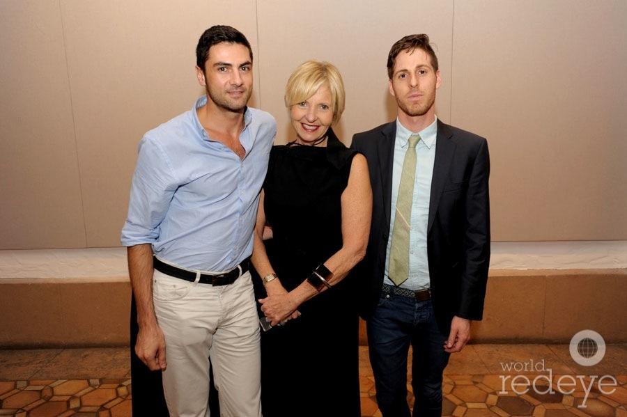 Christian Larsen, Cathy Leff, & Matthew Abbess