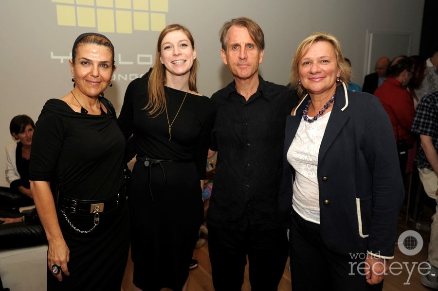 Cristina Favretto, Megan Springer, Tim Austin, & Rosanna Sindici