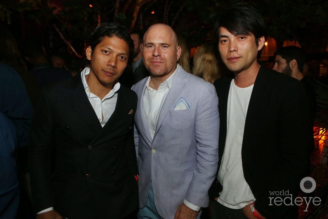 Robbie Antonio, Marc Spiegler, & Shohei Shigematsu