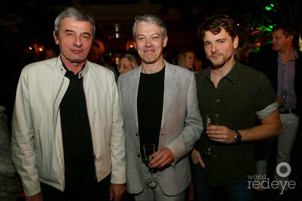 Philippe Jousse, Pascal Cuisinier, & Florian Liberal