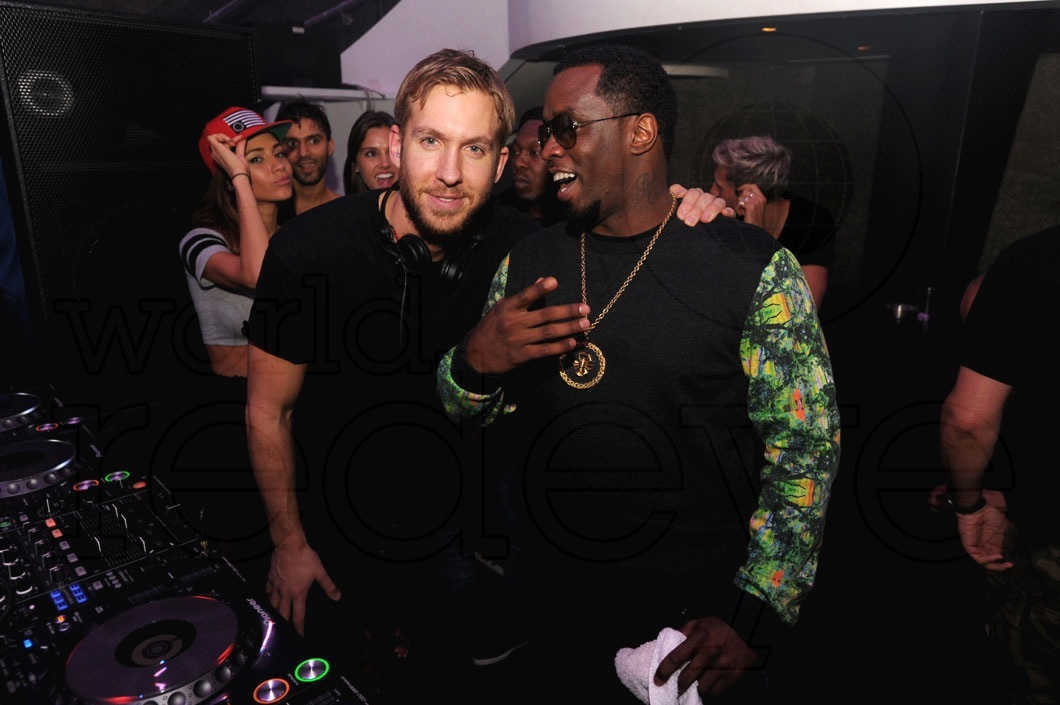 "Calvin Harris & Sean ""Diddy"" Combs at LIV - World Red Eye   World ..."