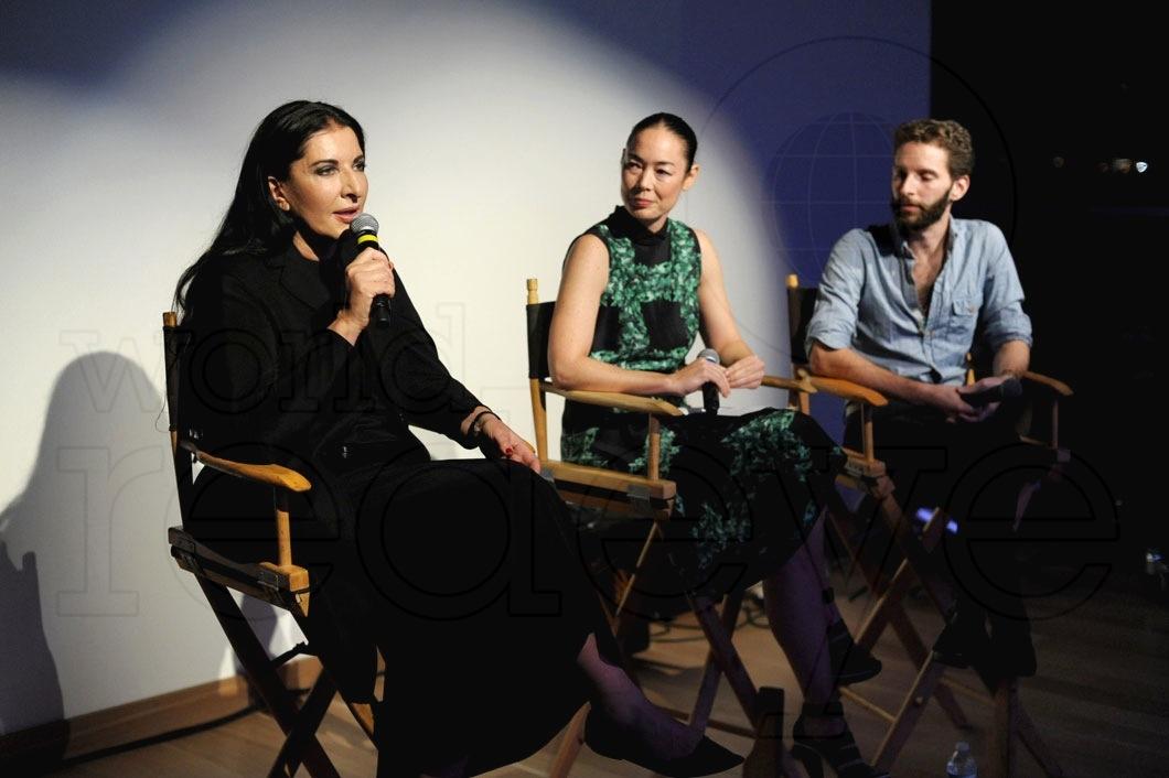 Marina Abramovic, Cecilia Dean, & Matthu Placek