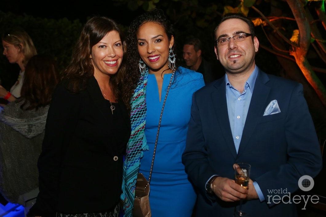 Katya Segovia Abouarab, Alia Al-Senussi, & Marco Fazzone