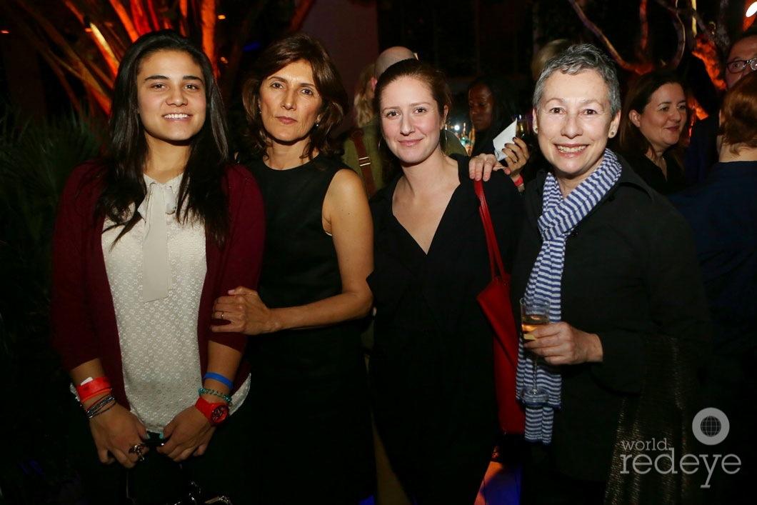 Catalina Aguayo, Alexandra Agudelo, Lindsay Johnson, & Cristina Grajales