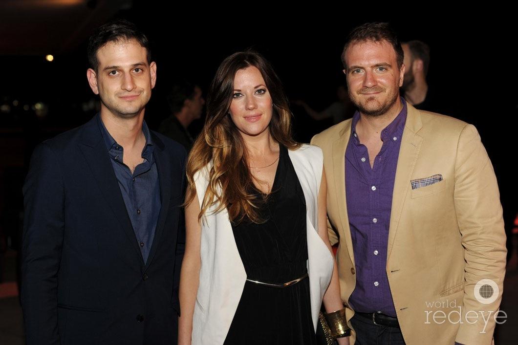 Alex Simons, Bethanie Brady, & San Tanzilli