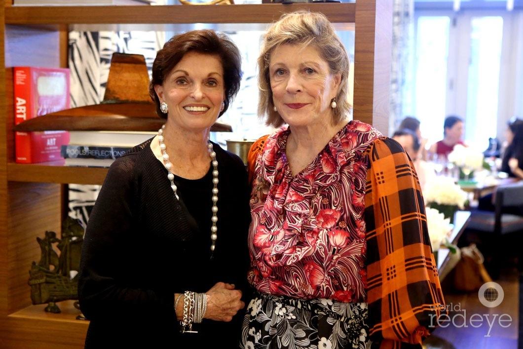 Ann Korologos & Agnes Gund