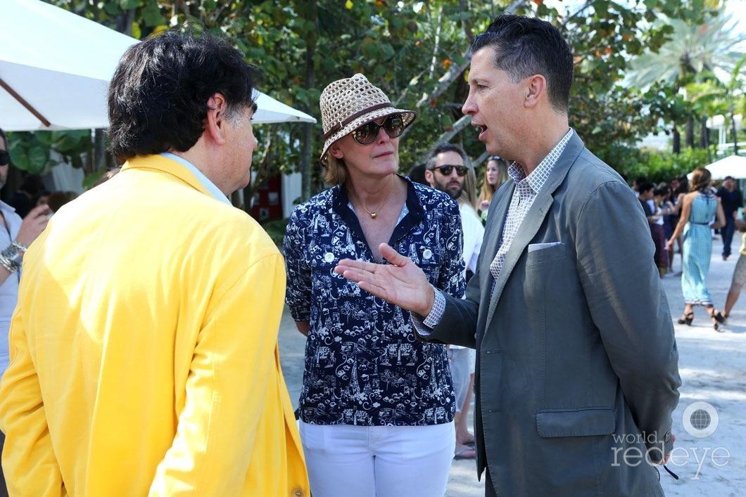 Jacques Barsac, Nancy Murray, & Stefano Tonci