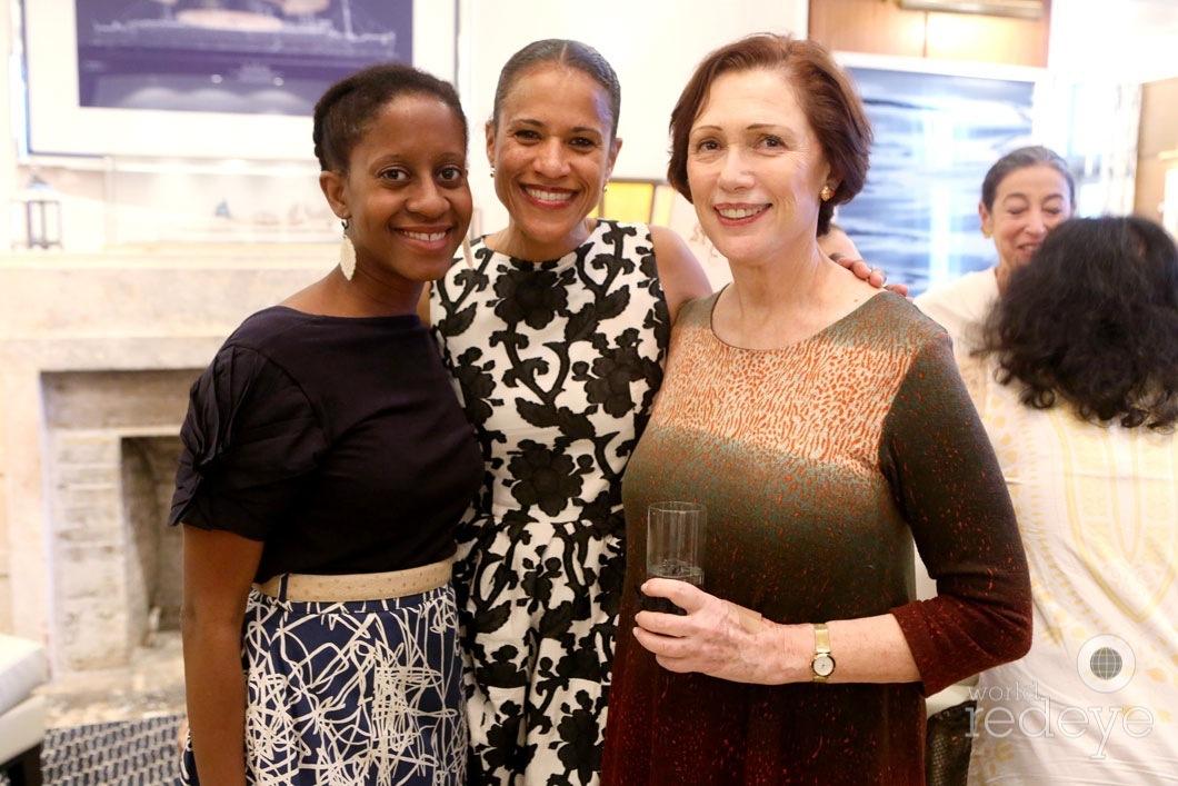 Holly Bass, Isolde Brielmaier, & Linda Blumberg