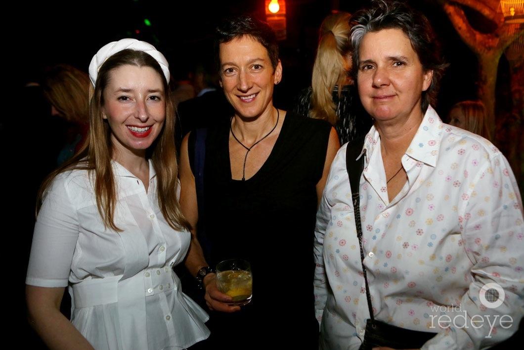Alexandra Cunningham, Juliet Burrows, & Kim Hostler