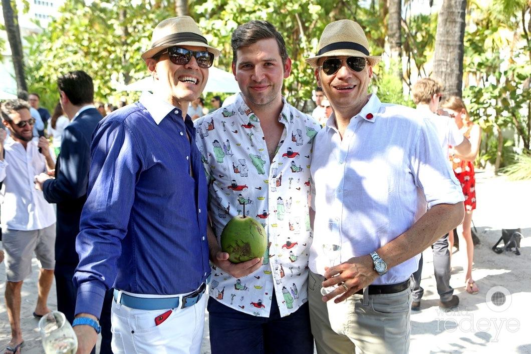Leonardo Davalos, Chris Barley, & Pedro Maal