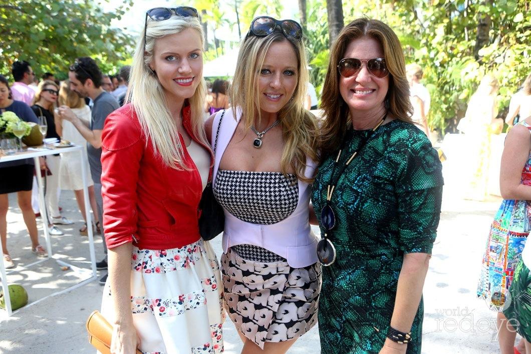 Kristin Decote, Carly Patterson, & Dana Shear