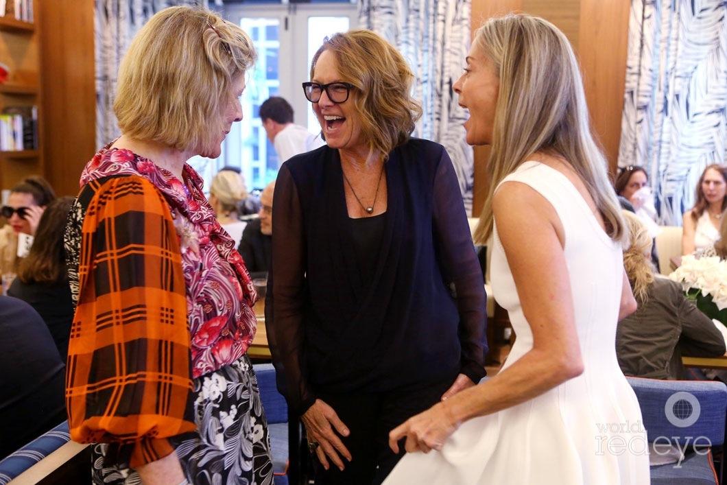 Agnes Gund, Ann Philbin, & Sue Hostetler