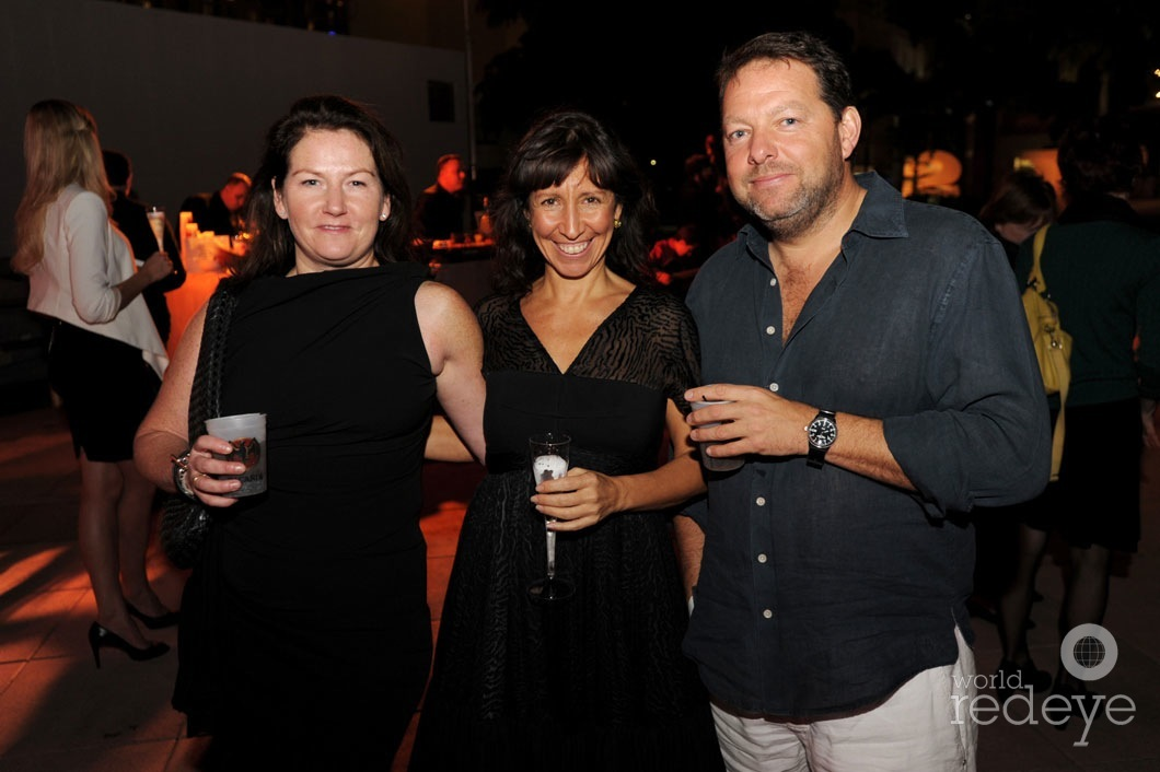 Harriet Logan, Lisa Leone, & Mark Faulkner