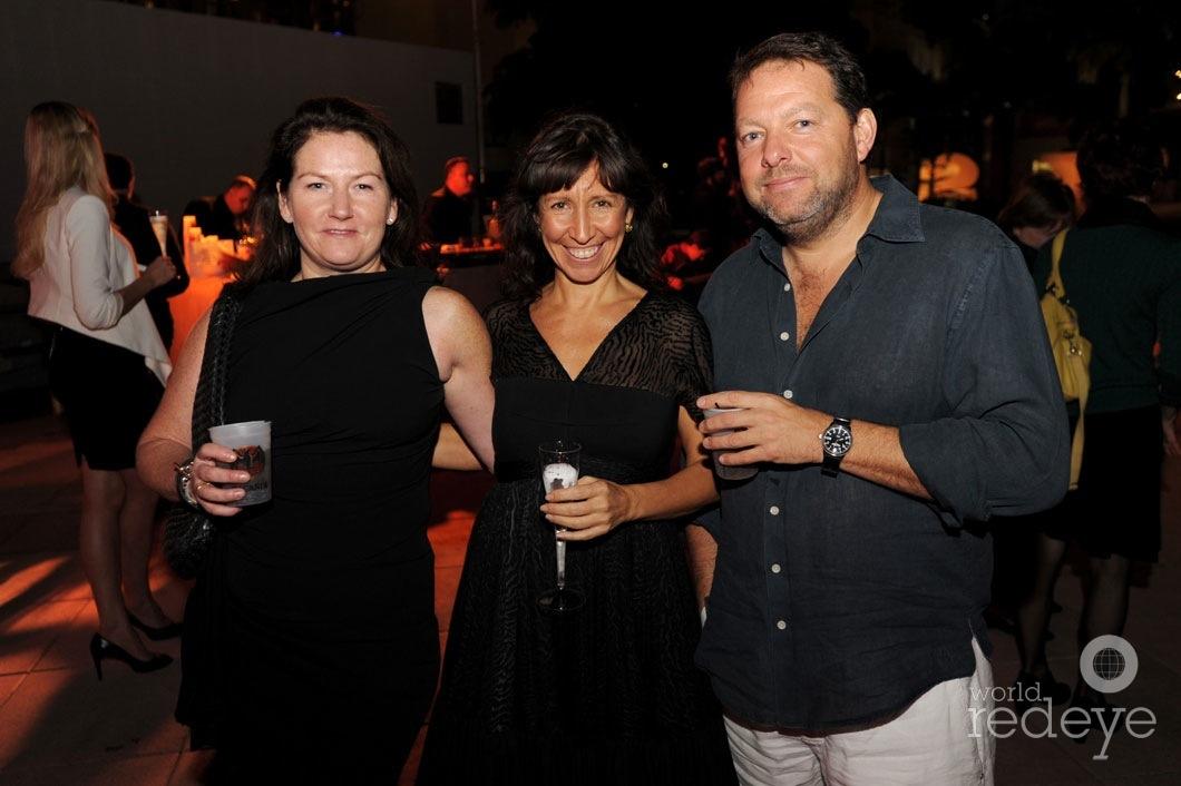 Harriet Logan, Lisa Leone, & Mark Faulkner