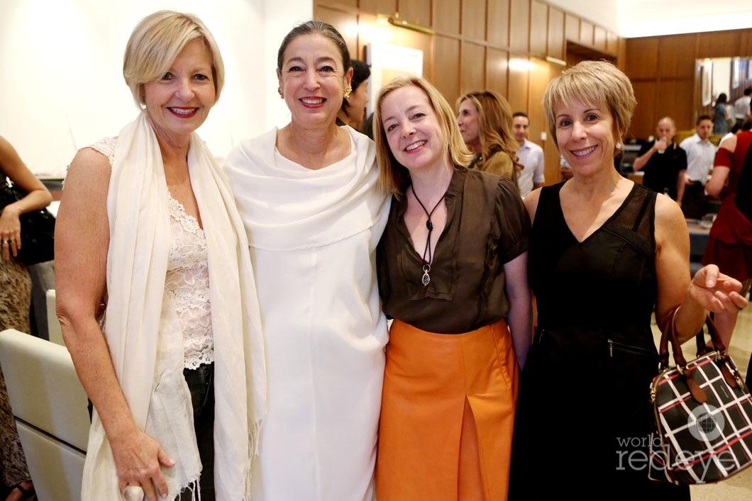 Cathy Leff, Michele Oka Doner, Nancy Lorenz, & Bonnie Clearwater