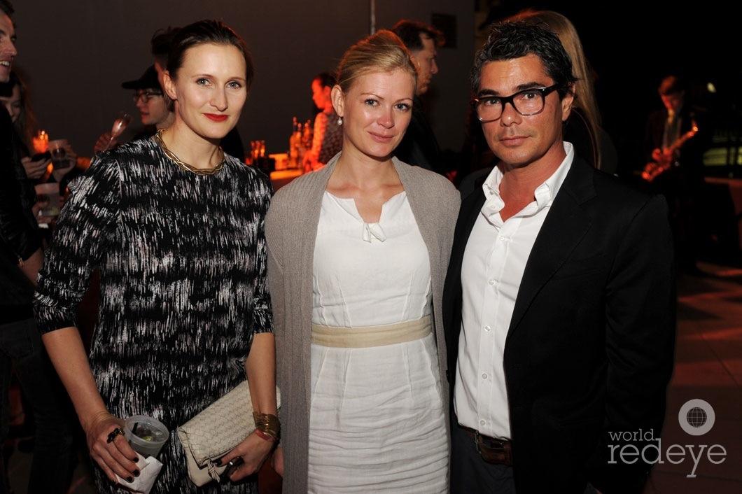 Milena Steinke, Romana Michael, & Tom Yamaoka