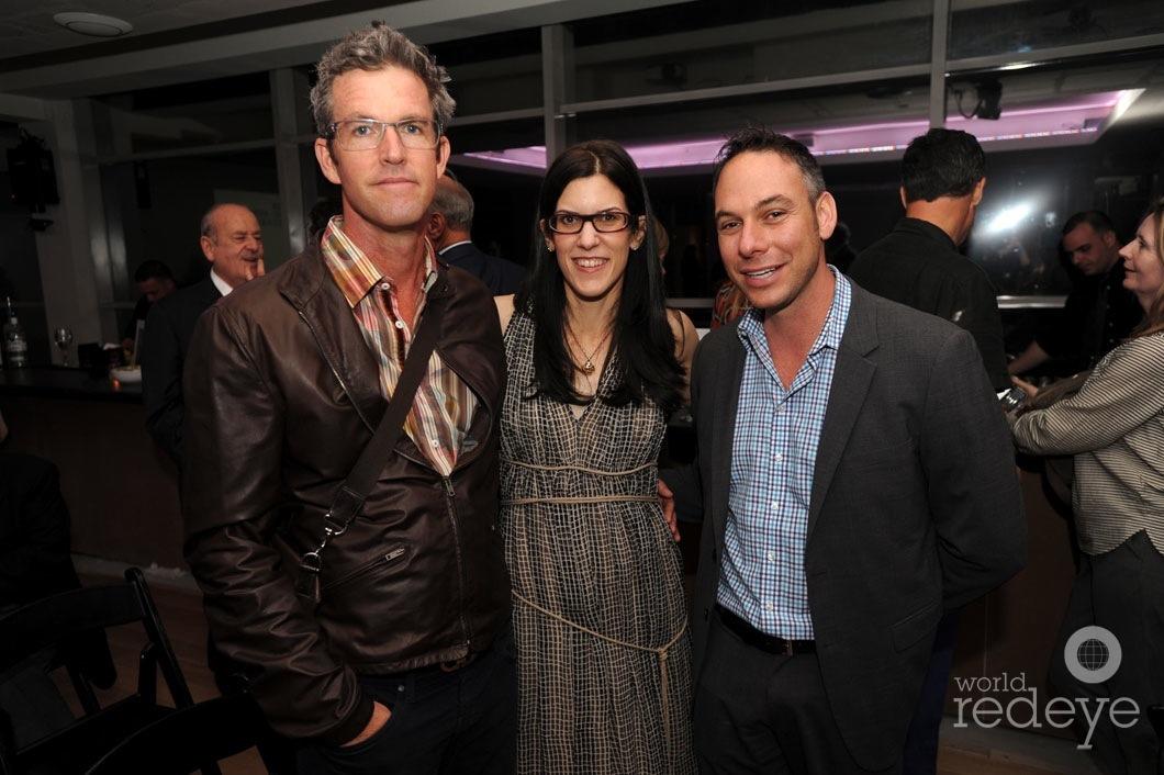 Spencer Stewart, Stephanie Ansin, & Tony Cho