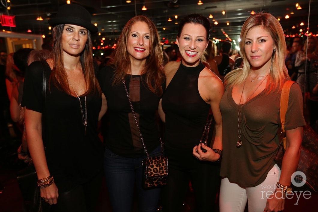 Karla Briceno, Karina Tutt, Rachel Robinson, & Tara Briceno