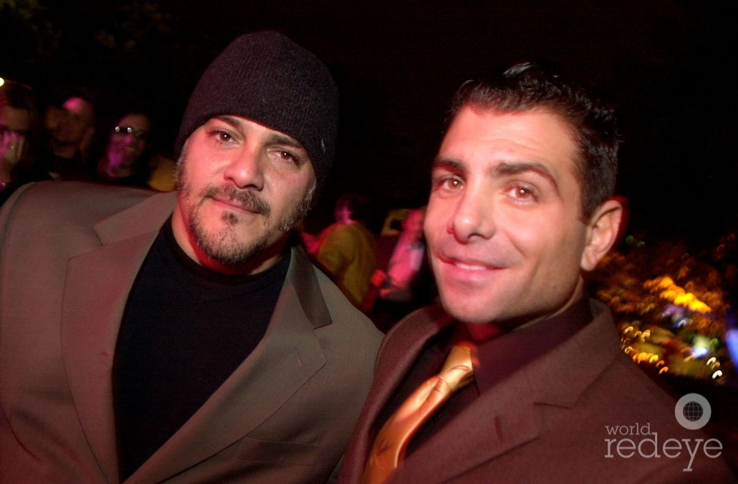 Mark Leventhal &amp; <b>Antonio Misuraca</b> at Ten Museum Park Party on November 29, <b>...</b> - 29-MARK-LEVENTHAL-ANTONIO