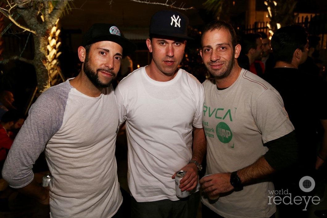 Rene Pereda, Chris Nagy, & Yosi Tal