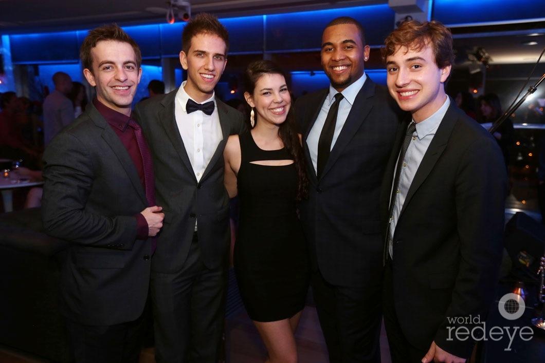 Benny Benack III, Evan Sherman, Kelley Kessell, Russell Hall, & Luke Celenza