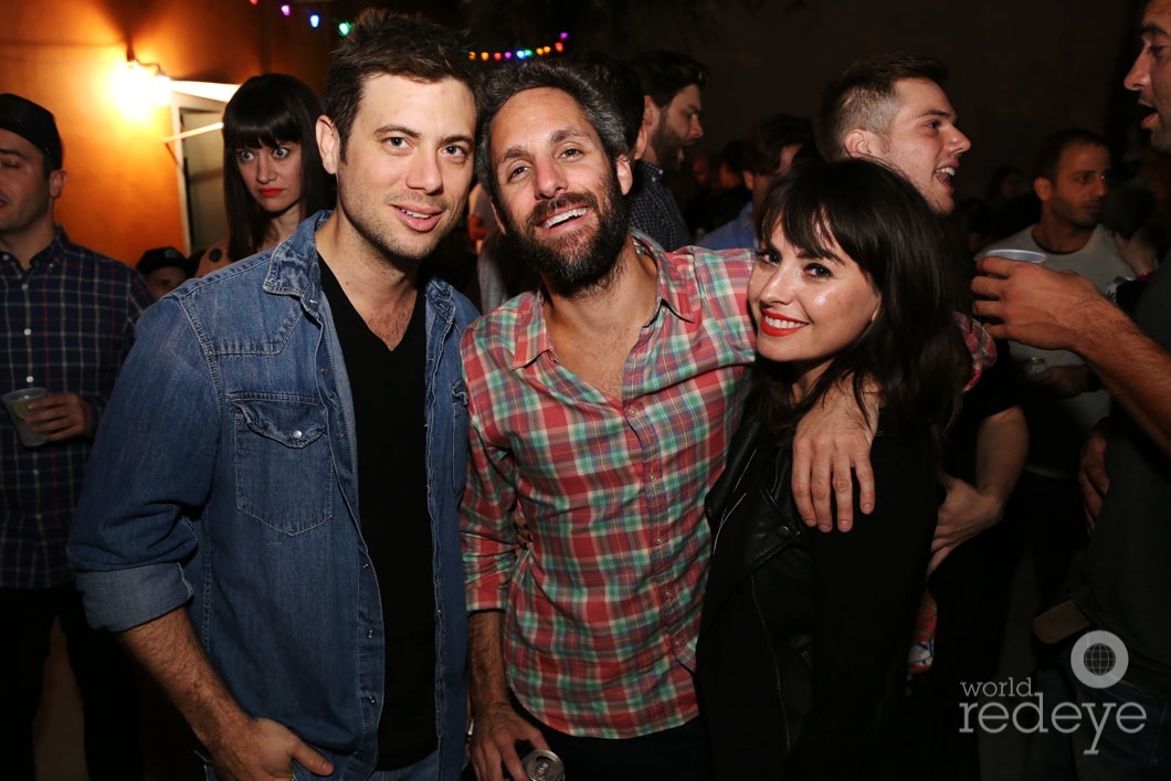 Sean Drake, Seth Browarnik, & Michelle Leshem
