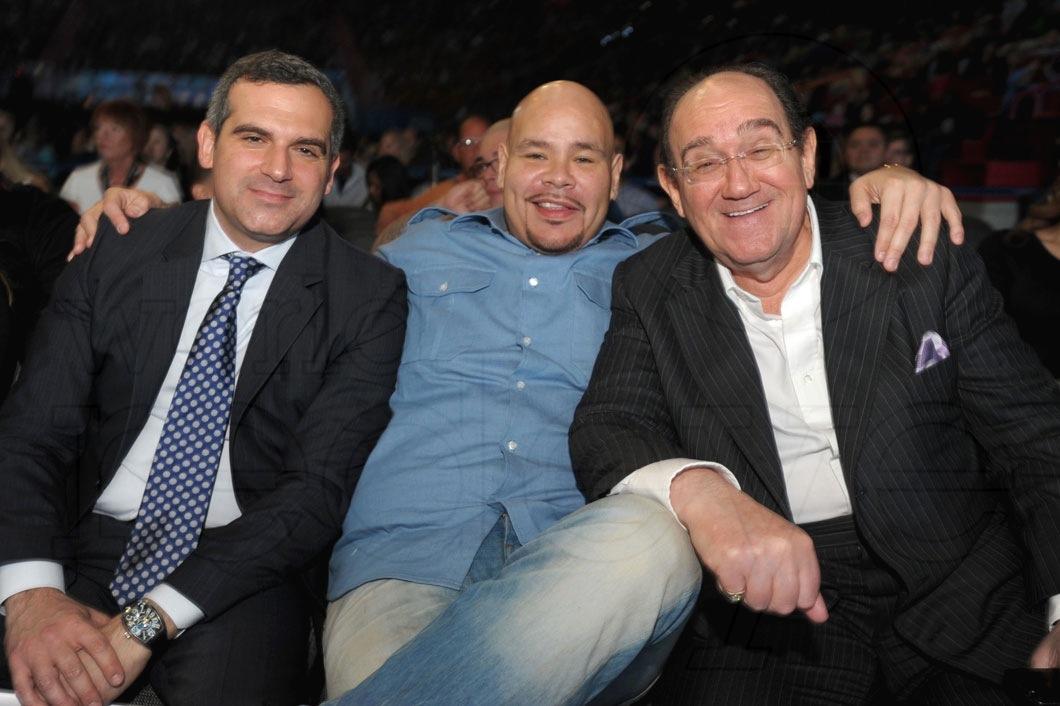 Andrew Weissman, Fat Joe, & Marty Weissman