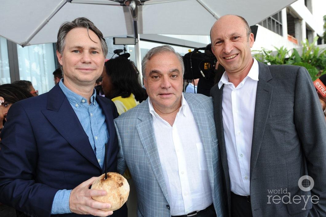 Jason Binn, Lee Brian Schrager, & Ricardo Dunnin