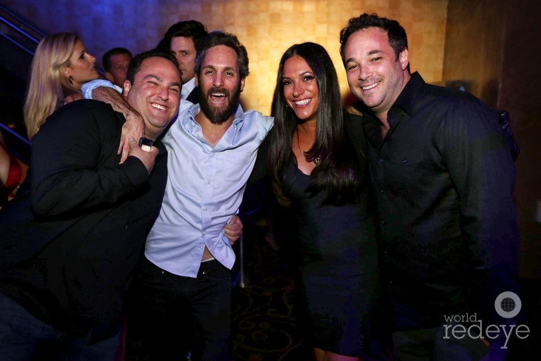 Chad Fabrikant, Seth Browarnik, & Lyndsey & Matt Cooper