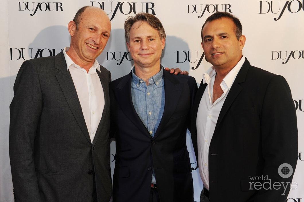 Ricardo Dunin, Jason Binn, & Ophir Sternberg