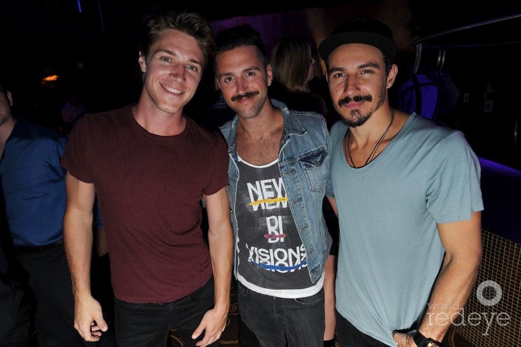 Zachary Ralph, Dustin Heil, & Biz Martinez