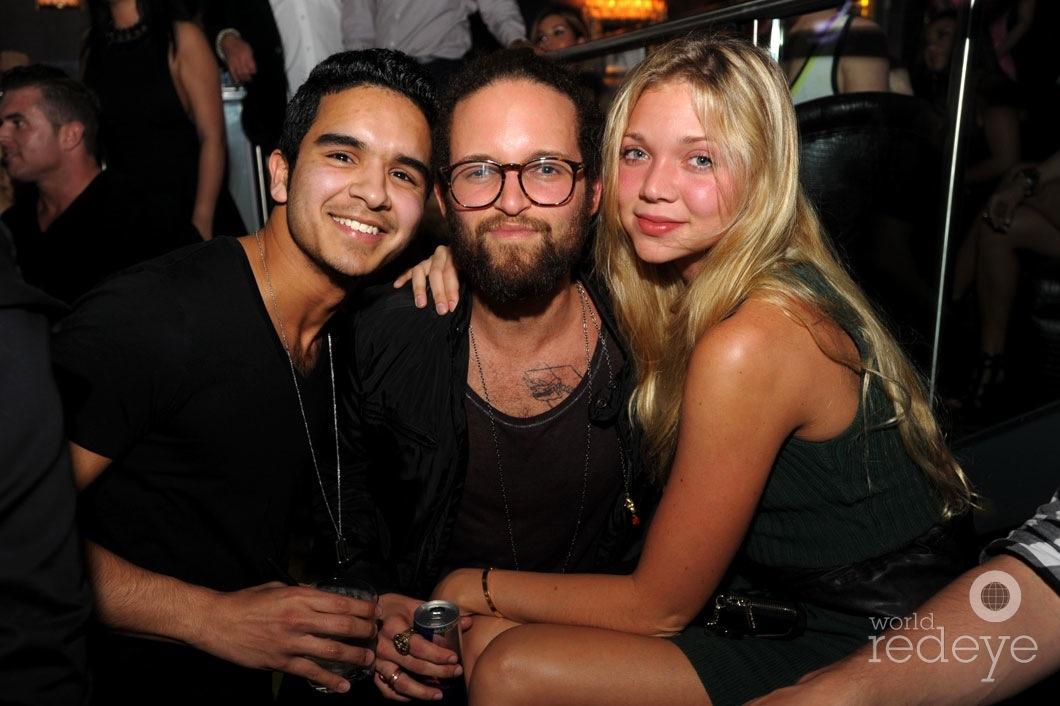 Nick Diaz, Lucas Zagul, & Jessie Andrews