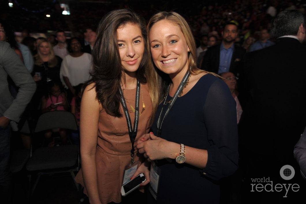 Melissa Paniagua & Kaitlyn Hodgins