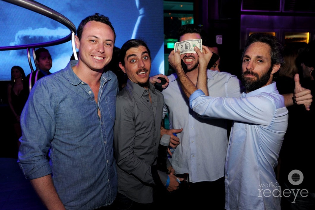 Ryan Troy, Nathan Valentine, Rodrigo Gaya, & Seth Browarnik