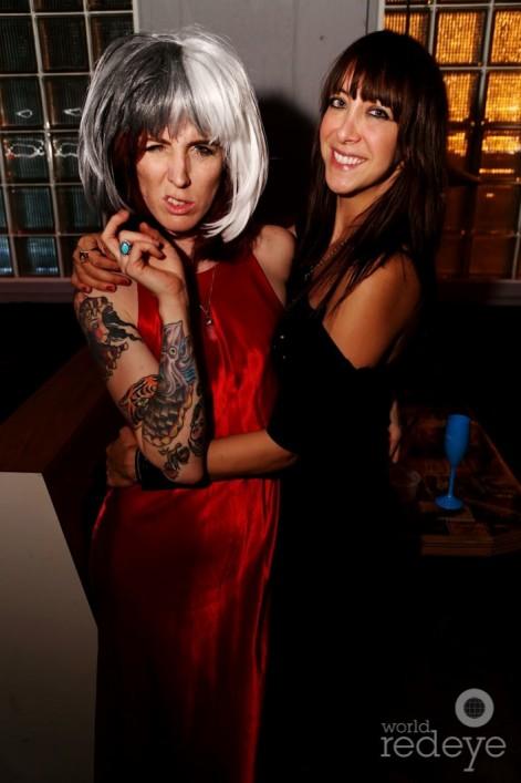 Jennifer Taylor & Theresa Amandi