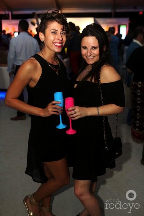 Liana Lozada & Tracy Block